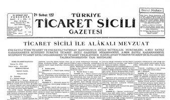 Türkiye Ticaret Sicil Gazetesi