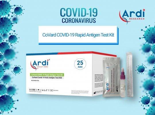 CoVard COVID-19 Hızlı Antijen Test Kiti