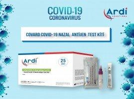 CoVard SARS-CoV-2 Hızlı Nazal Test Kiti