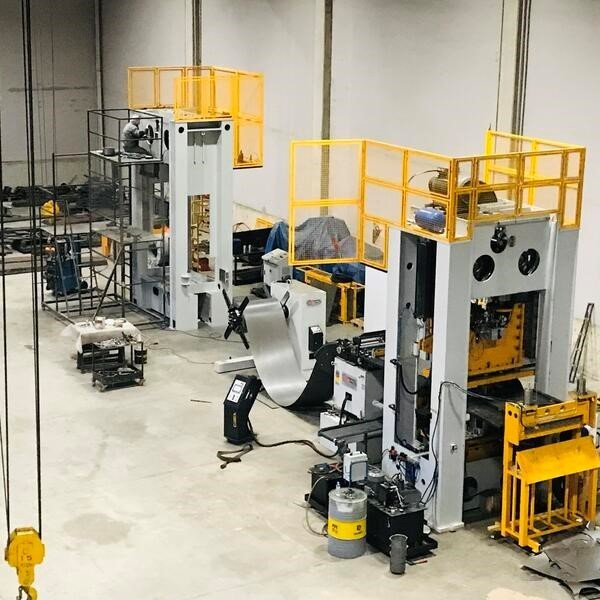 As  we are BİAS Machinery, we produce presses for different sectors.