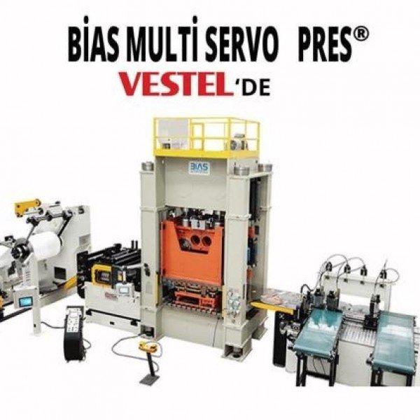 Dünya devi Vestel de BİAS Multi Servo Pres® kullanıyor.